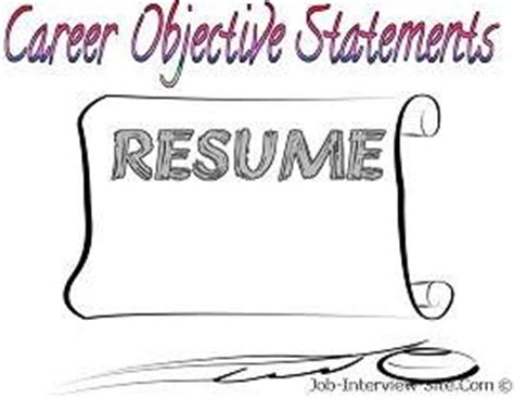 IT Resume Objectives Samples Great Sample Resume